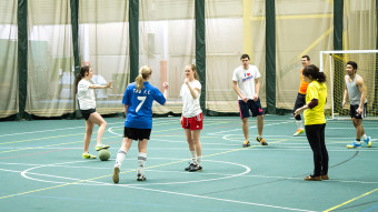 Futsal for the Food Bank: Campus Food Bank hosts annual Power Play Cup