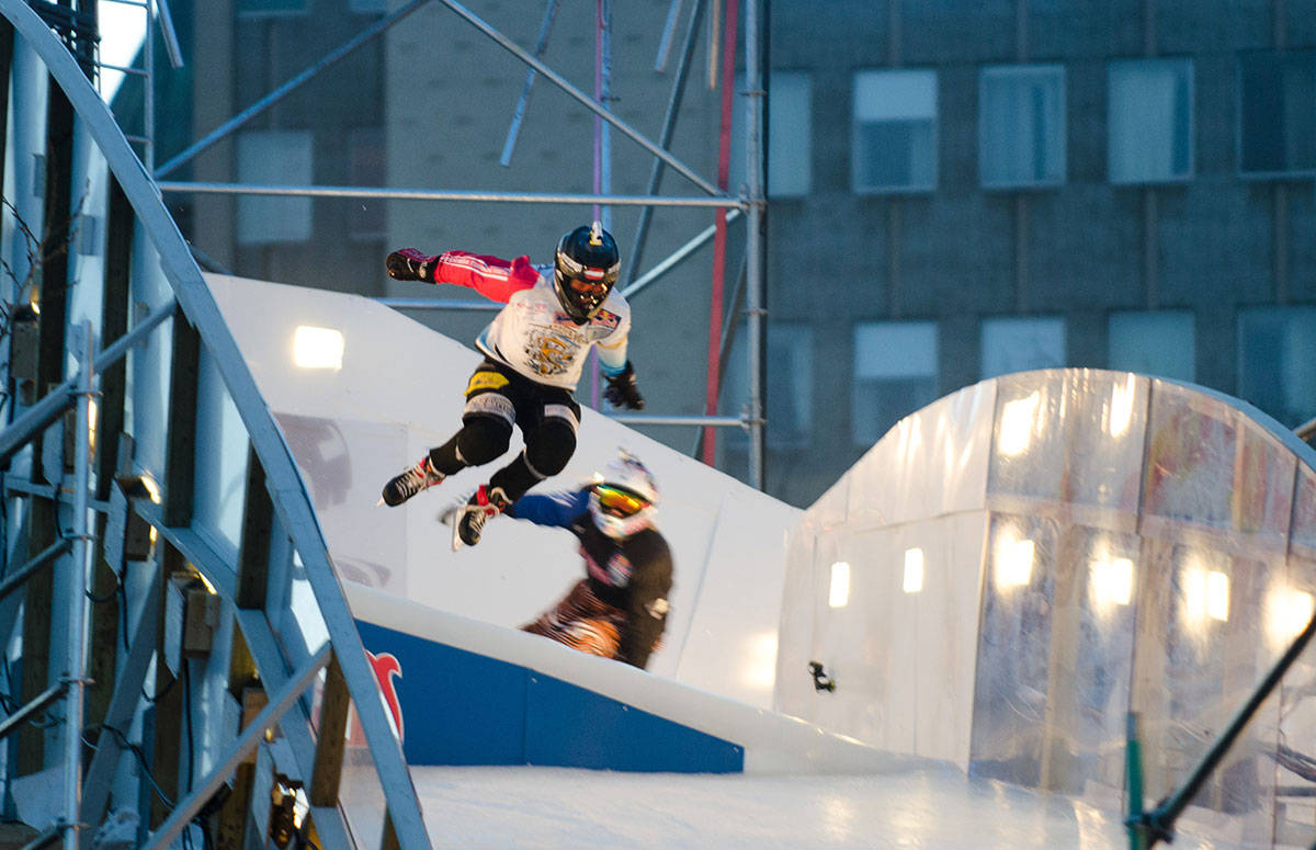 Photo of In Photos: Red Bull Crashed Ice