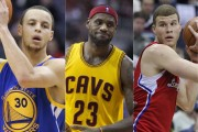 3 up, 3 down: The NBA playoffs