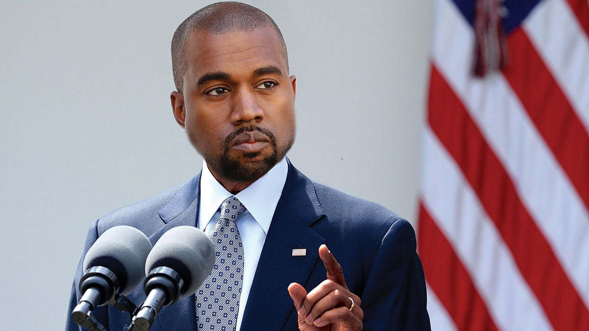 Photo of Kanye West delivers unforgettable speech