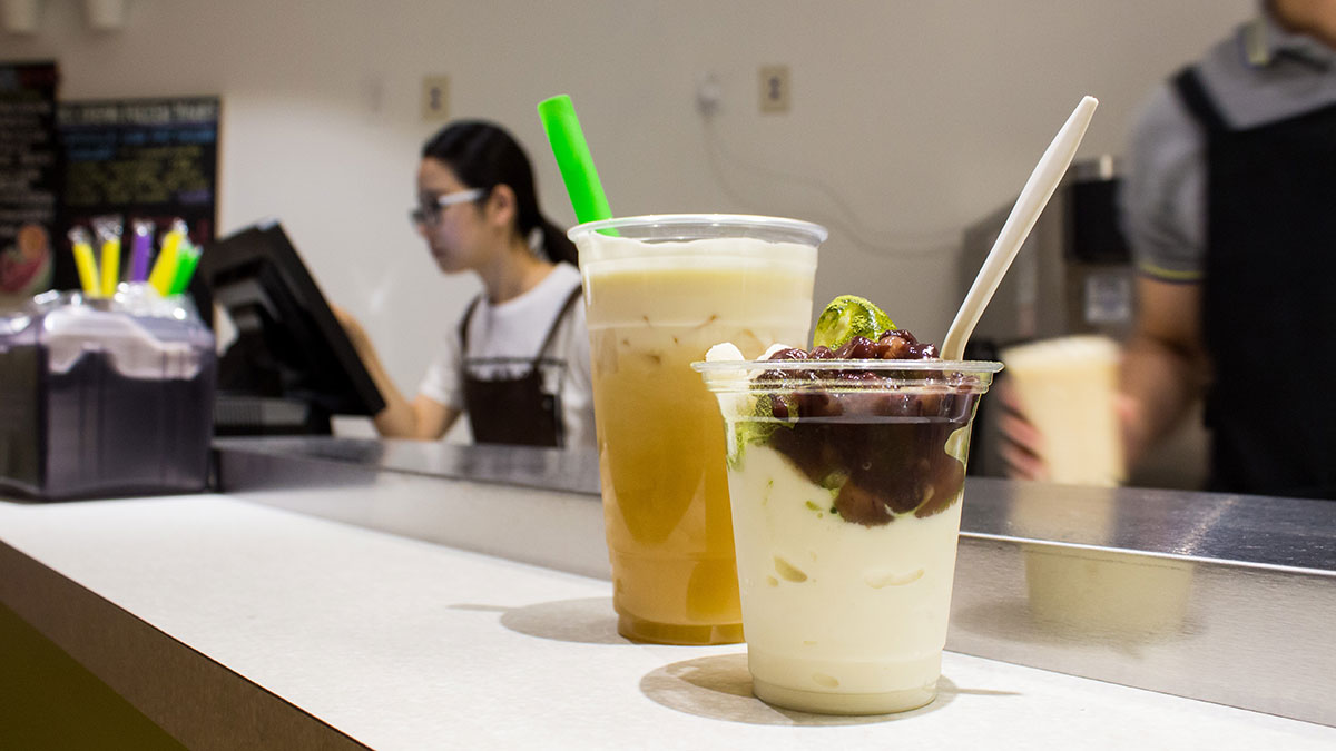 Photo of New bubble tea cafe stirs up freshness and convenience