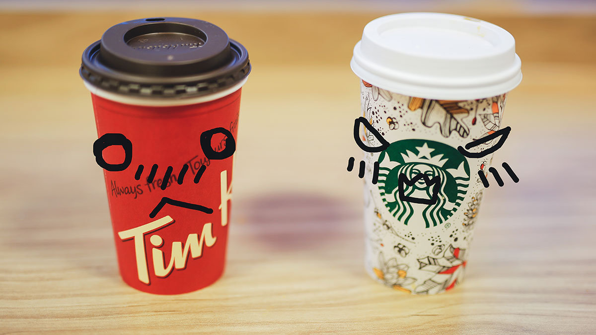 Photo of Group Commentary: Tim's or Starbucks?