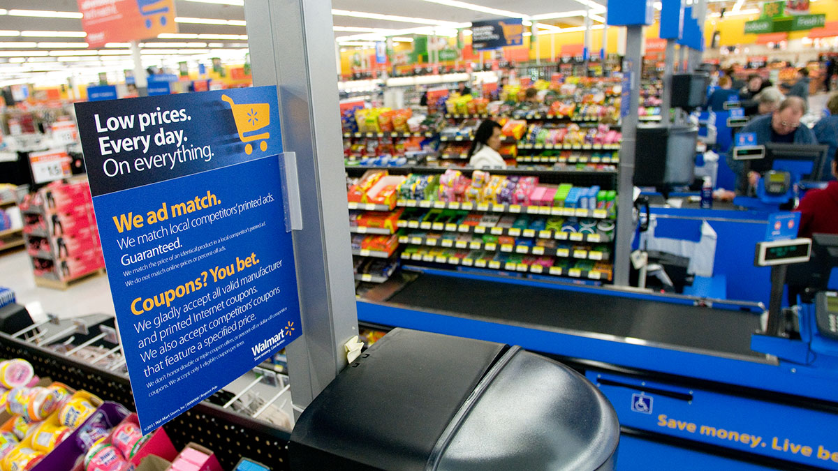 Is shoplifting from Walmart justifiable?