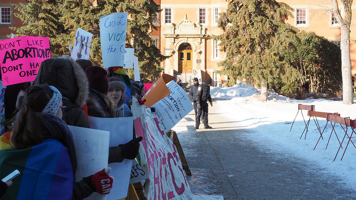 Photo of UAlberta Pro-Life: explanation for suing university administration