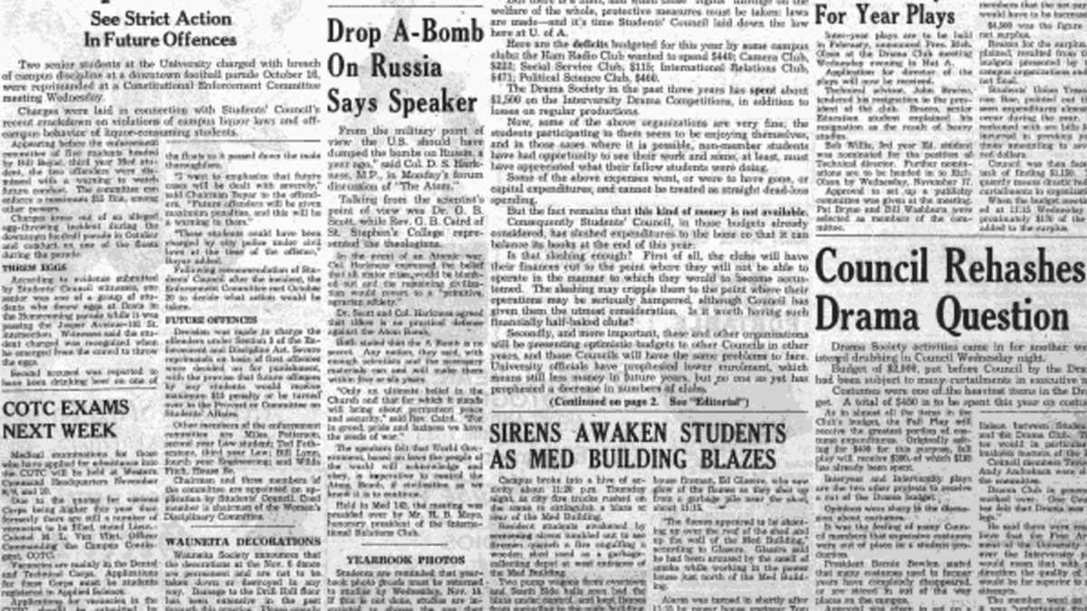 Throwback: Drop A-Bomb On Russia Says Speaker