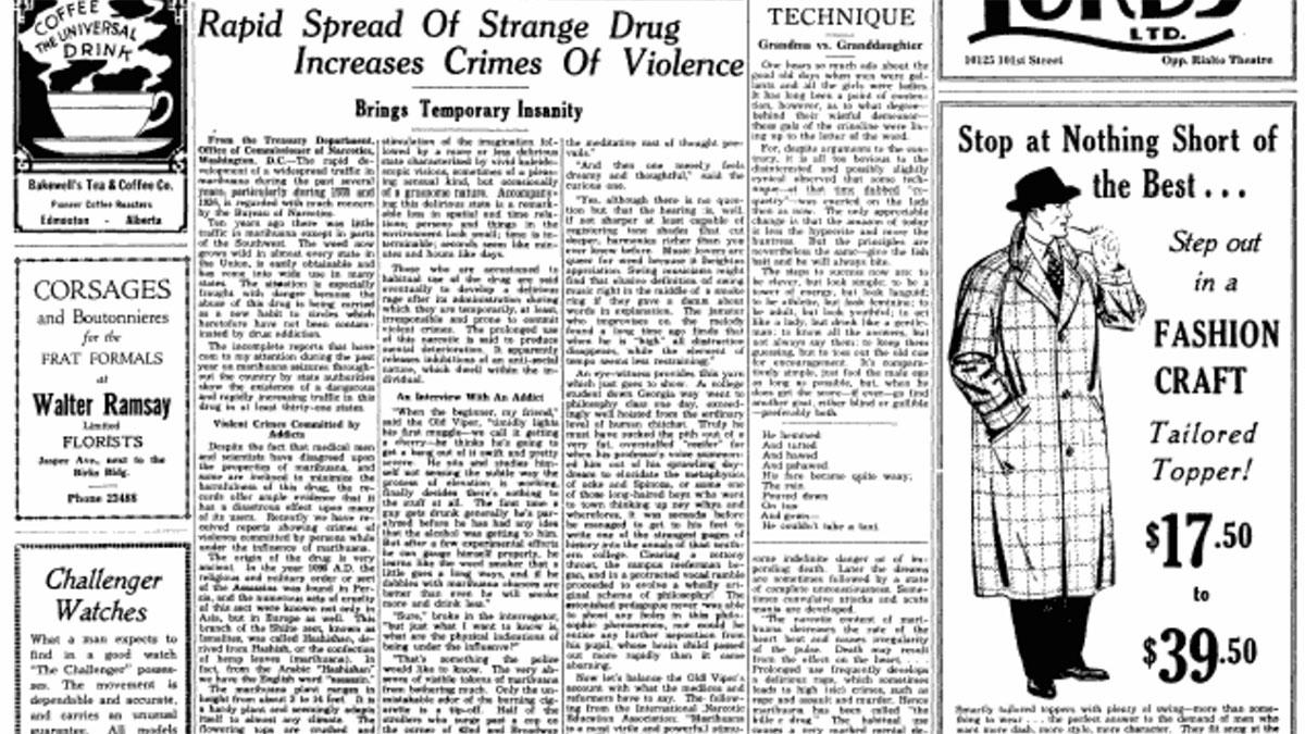 Throwback: Rapid Spread Of Strange Drug Increase Crimes of Violence