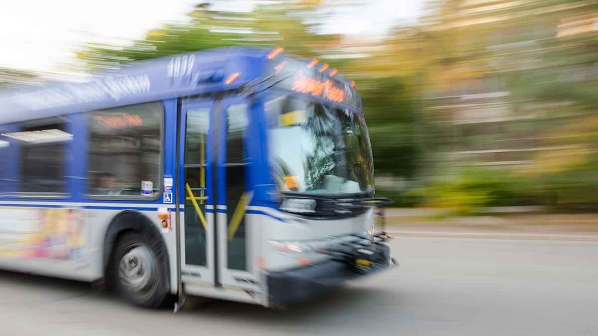 Photo of No U-Pass for transit during Winter 2021 semester