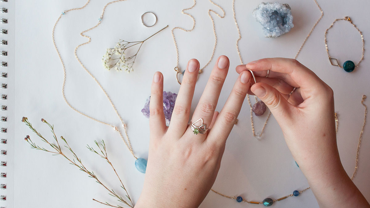 Photo of Mountain & Lake's soulful approach to jewelry