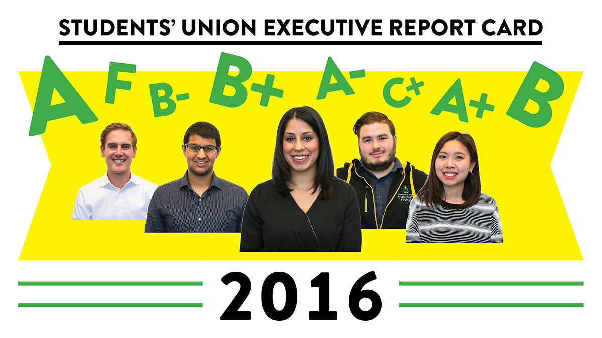 Photo of Feature: SU Executive Report Card