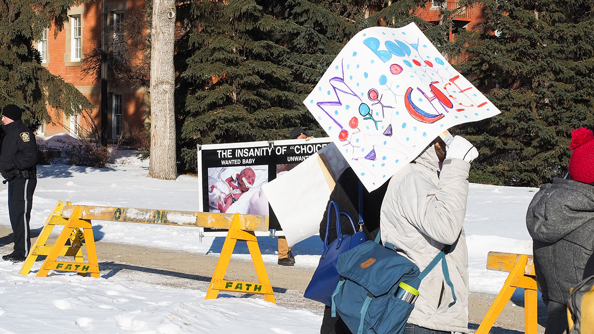 Photo of UAlberta Pro-life: Administration is charging $17,500 to express an opinion