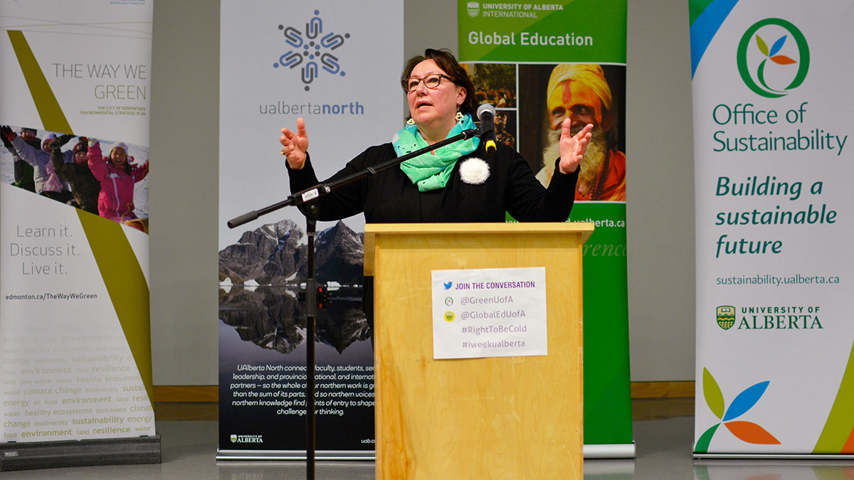 """Photo of """"This is about climate trauma"""": Sheila Watt-Cloutier on the Arctic"""