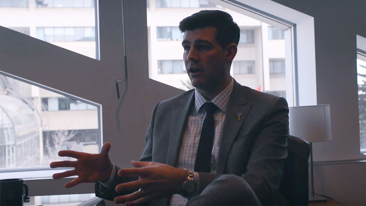 Photo of Video: Mayor Don Iveson Talks Gateway