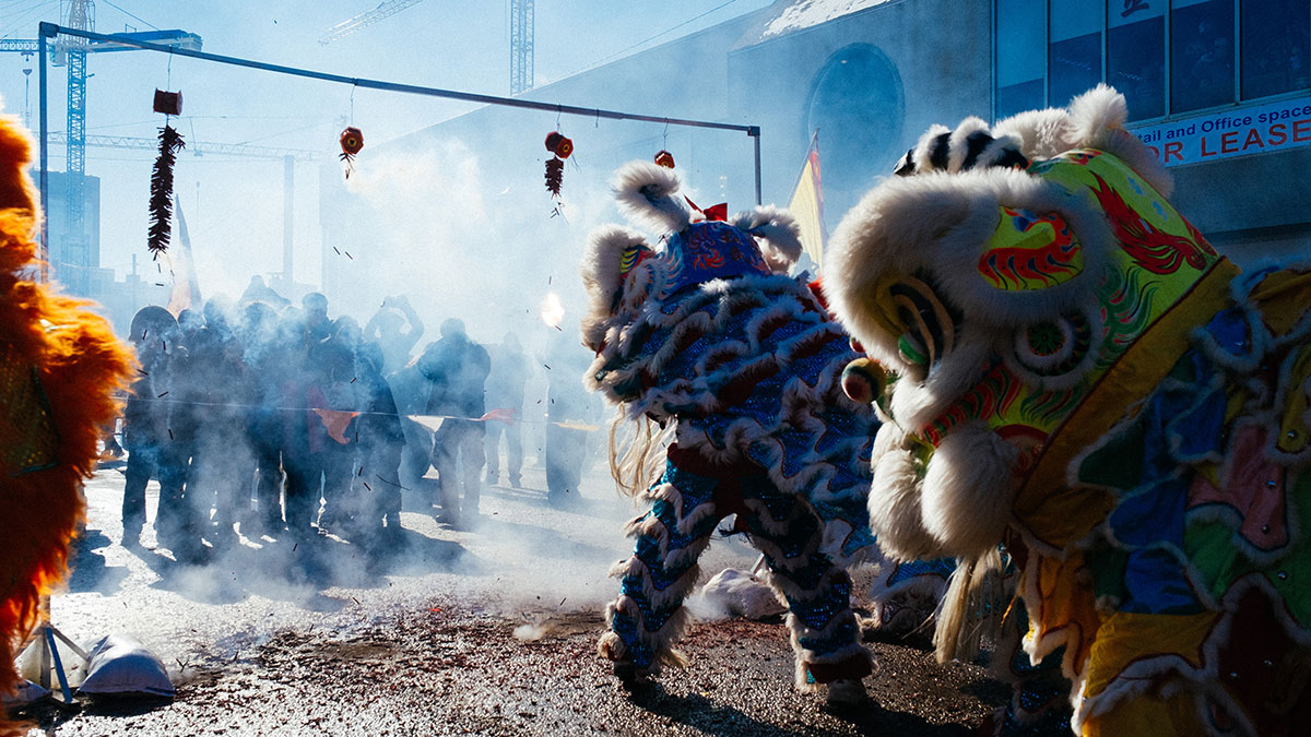 Chinese New Year: Celebration in the Streets
