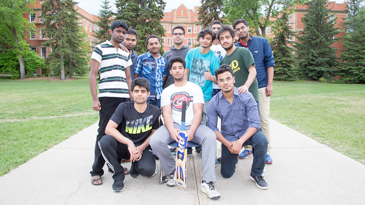 Photo Essay: Cricket in Quad