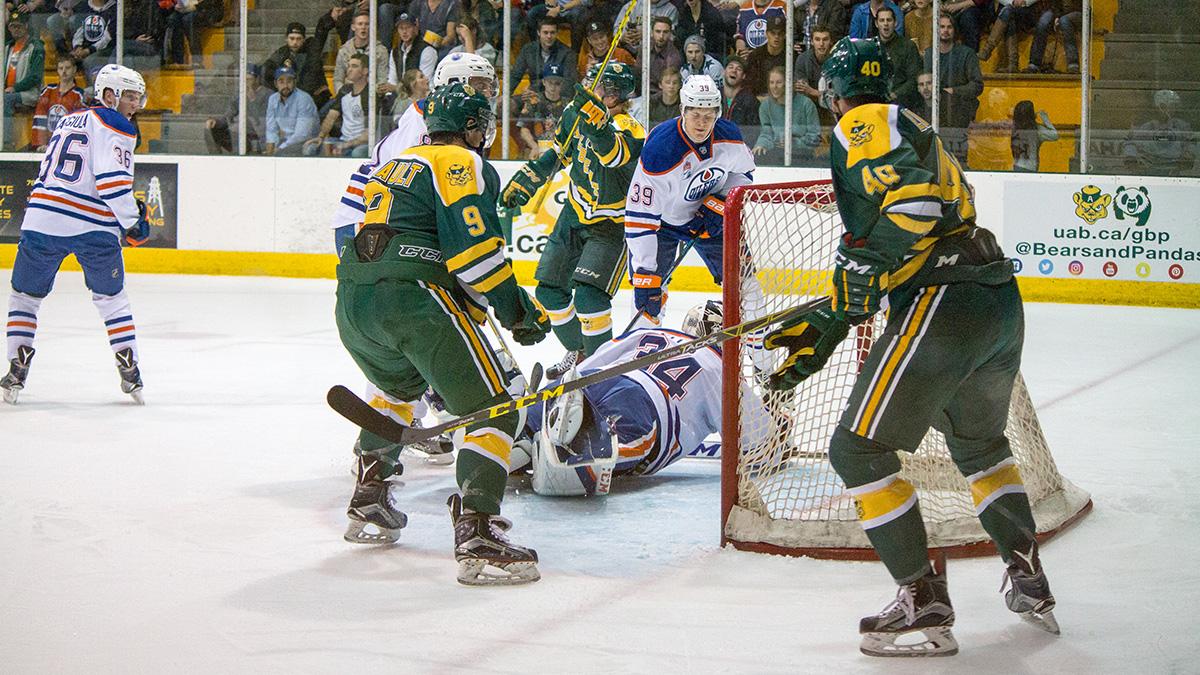 Photo of 1050 Golden Bears vs Oilers Rookies