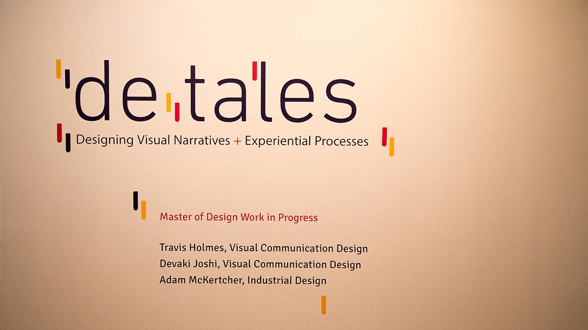 Graduate Design Group Show presents the details of marginalized populations