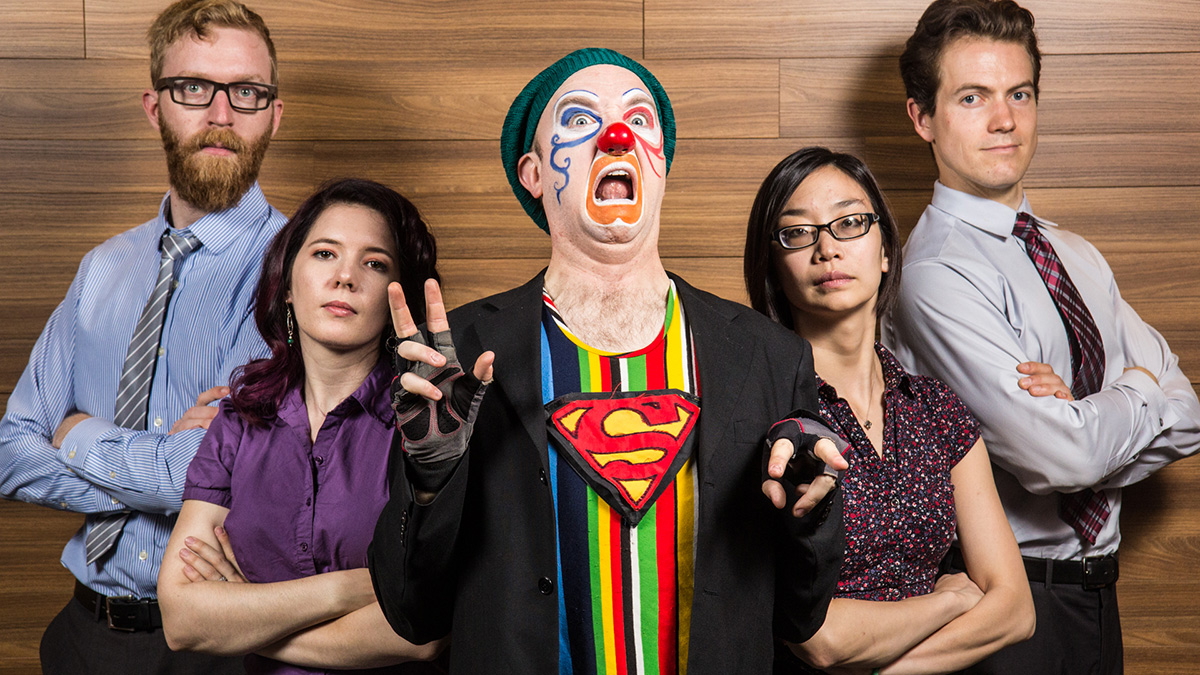 Photo of Brilliance and vulgarity at Edmonton's Clown Festival