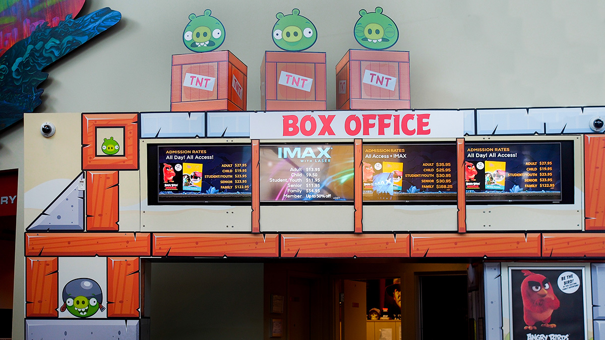 Review: Angry Birds Universe at the Telus World of Science