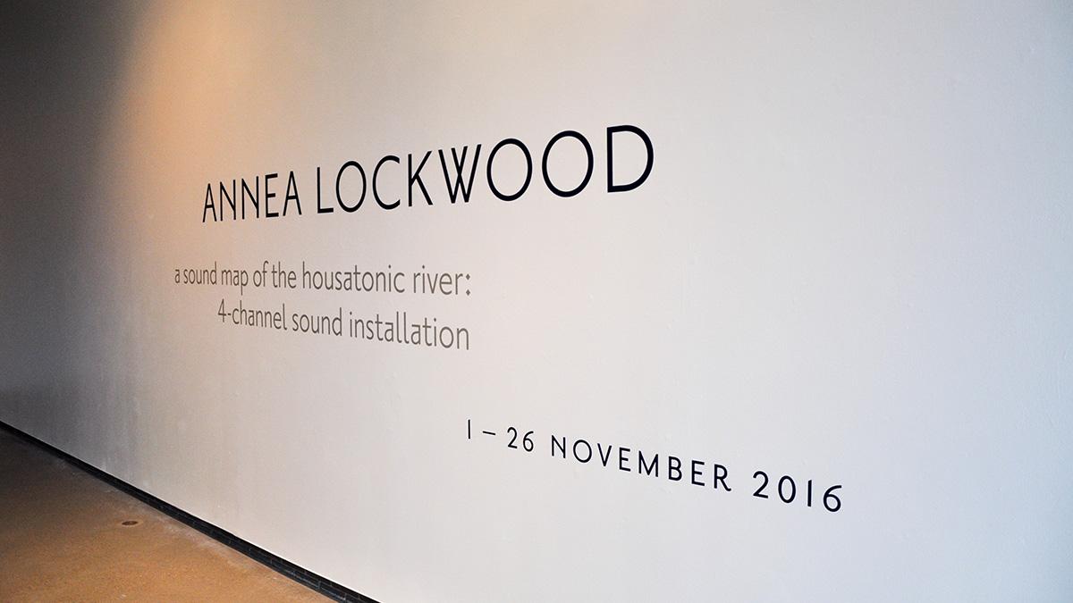 Annea Lockwood helps nature sound off in FAB Gallery exhibit