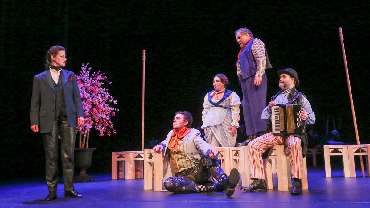 It may not star Amanda Bynes, but 'Twelfth Night' still shines on Timms Stage