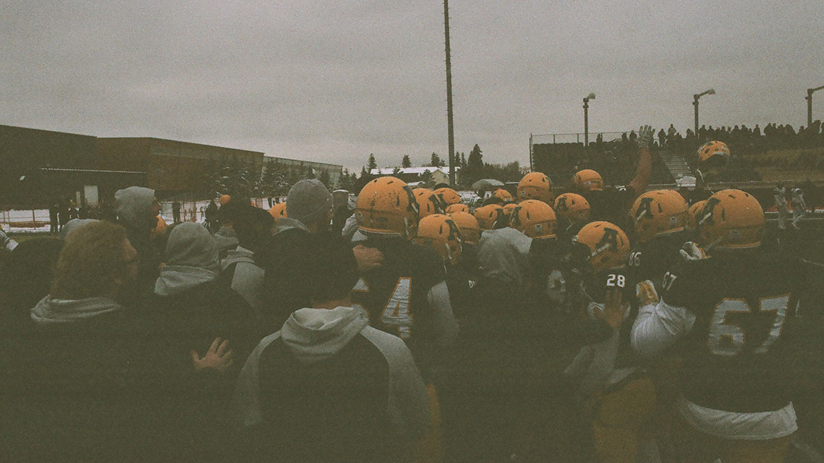 November Photo Essay: The Bears Win on 35MM