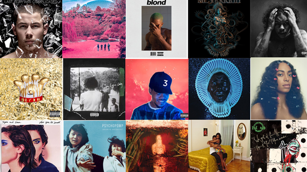 2016 in Review: The Gateway's Favourite Albums