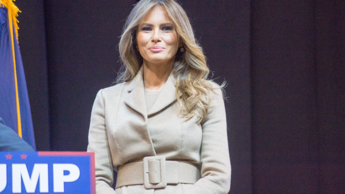 Ad-dressing the future First Lady