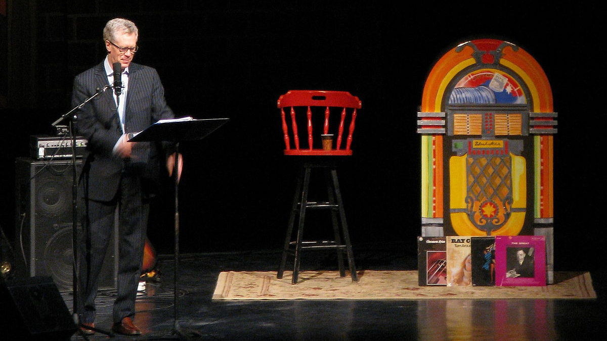 Stuart McLean was a national treasure
