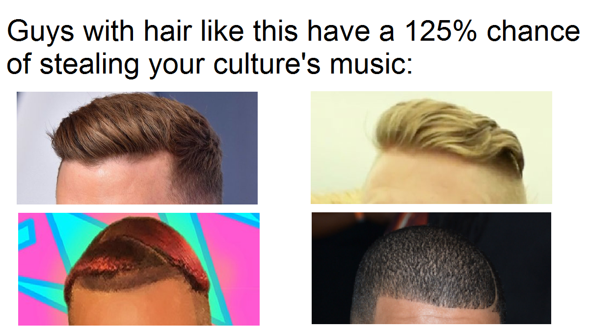 Appropriation, or just making music?