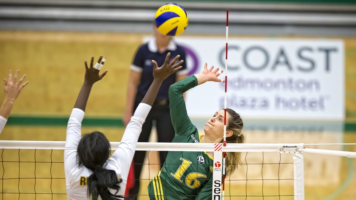 Q&A: Pandas volleyball player Meg Casault breaks Canada West record for career kills