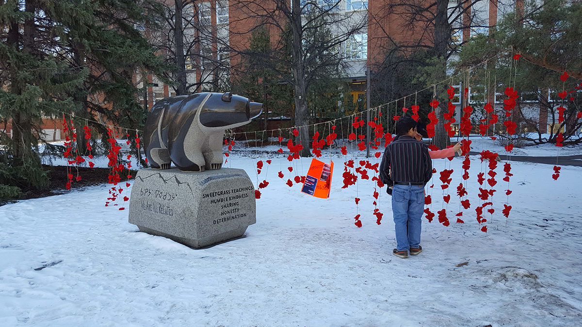 Student-organized installation on Treaty 6 coming to humanities