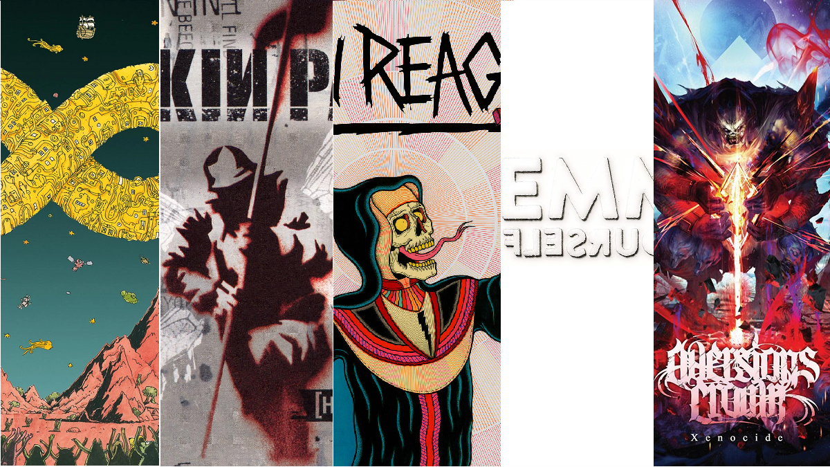 Top 5: Metal albums I'm listening to this reading week