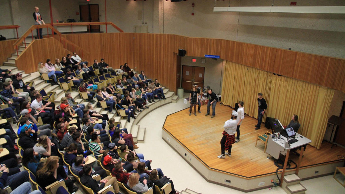 Photo of Inclusion and improvisation go hand in hand for the U of A's Improv Group