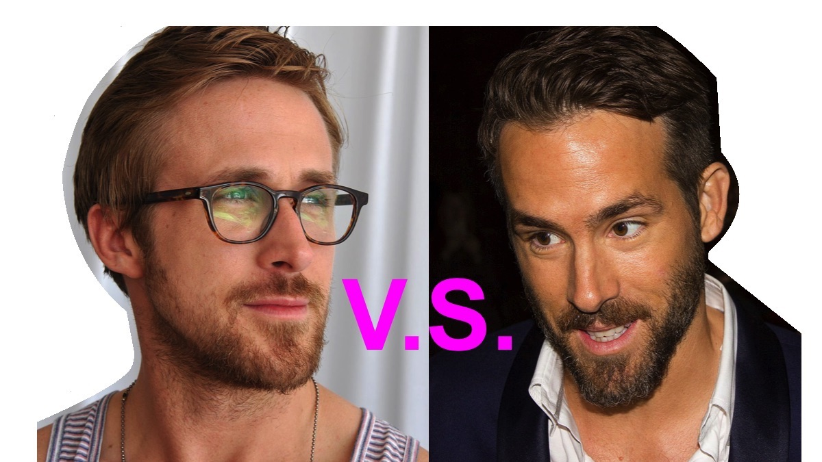 Point/Counterpoint: Ryan Gosling or Ryan Reynolds?