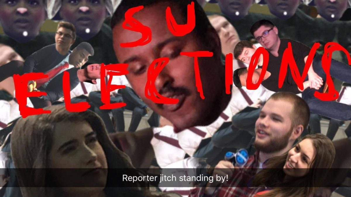 UASU Elections Snapchat art roundup volume one