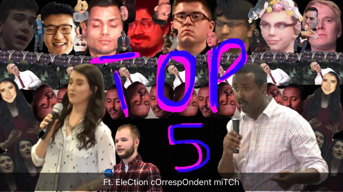 Top 5: SU election