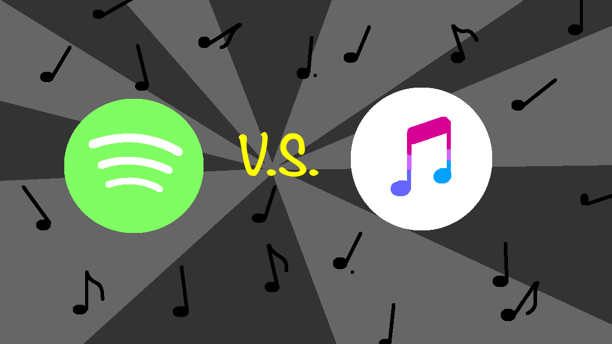 Point/Counterpoint: Spotify or Apple Music?