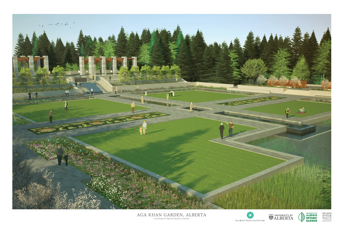 Islamic garden coming to University of Alberta Botanical Garden in 2018