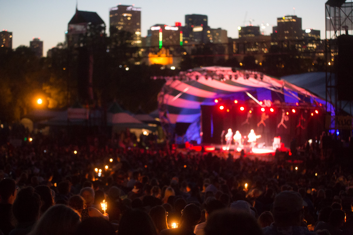 Photo of The Edmonton Folk Music Festival moves online with The Hill at Home
