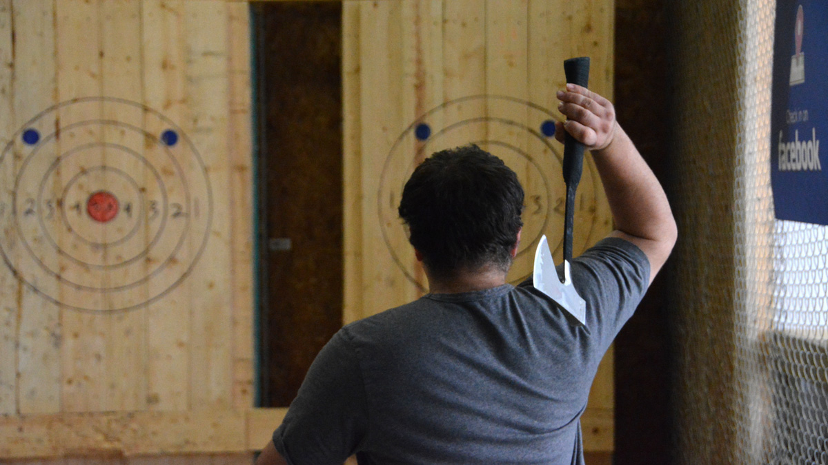 Photo of Grab your torches: Bad Axe Throwing review