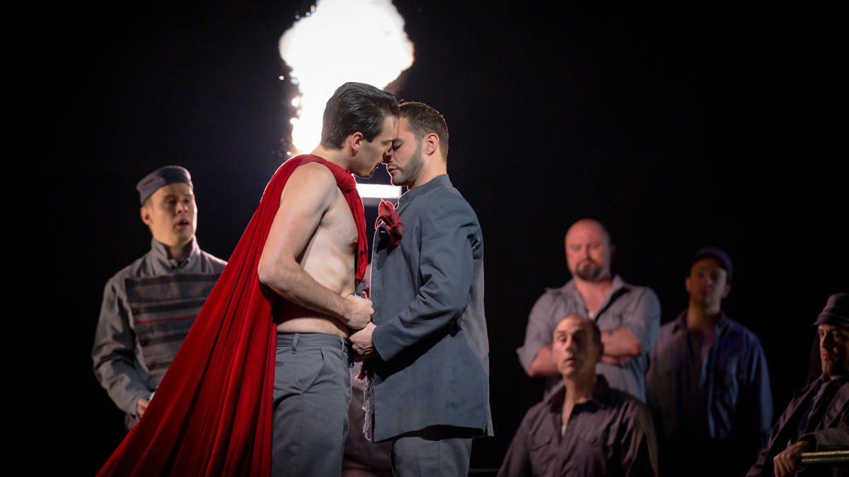 Photo of LGBTQ opera 'Lilies' sweeps the Jubilee
