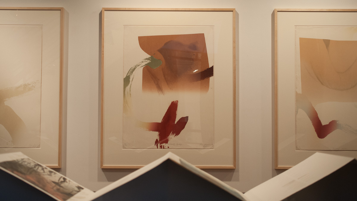 Photo of Masterful prints displayed in FAB gallery's 'Water/Bodies' and 'On Being Without'