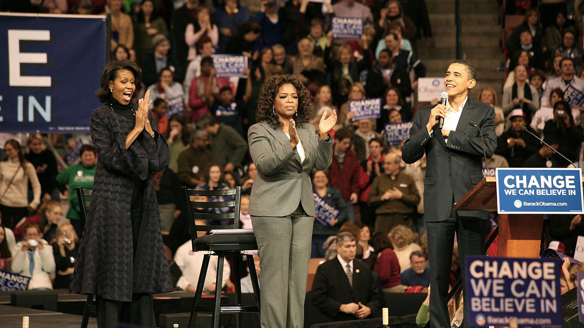 Photo of Oprah should be President, just not yet