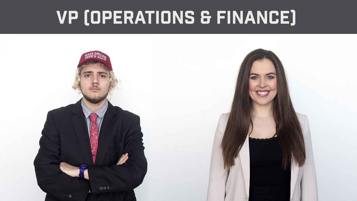 Photo of Election Dissection 2018: Vice-President (Operations & Finance)