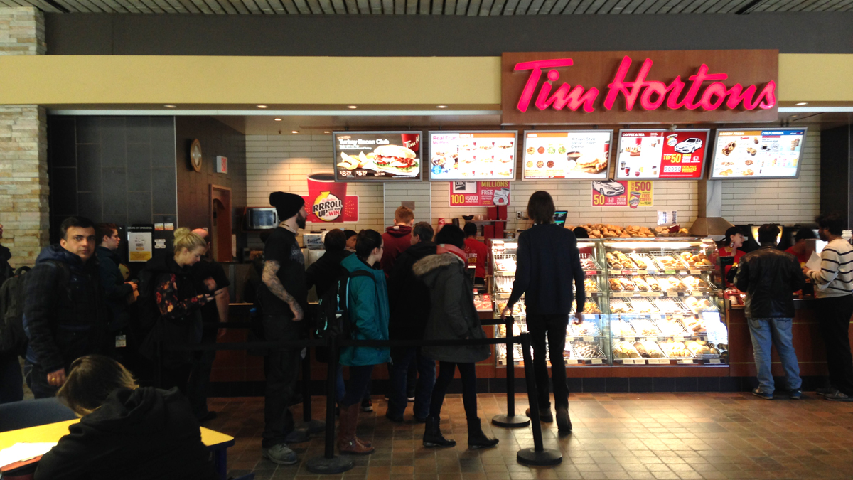 Photo of Top 5: Tim Hortons Locations on Campus