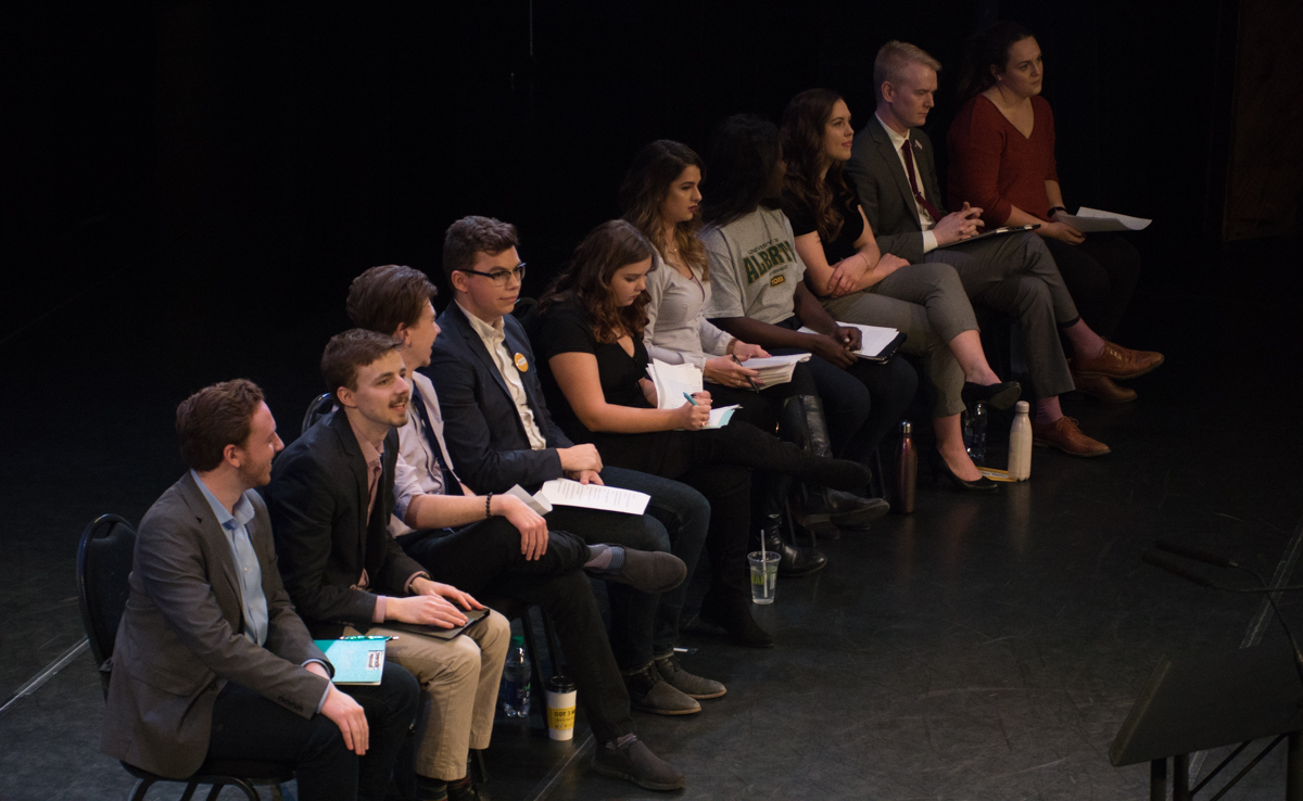Photo of Candidates take centre stage at Myer Horowitz forum