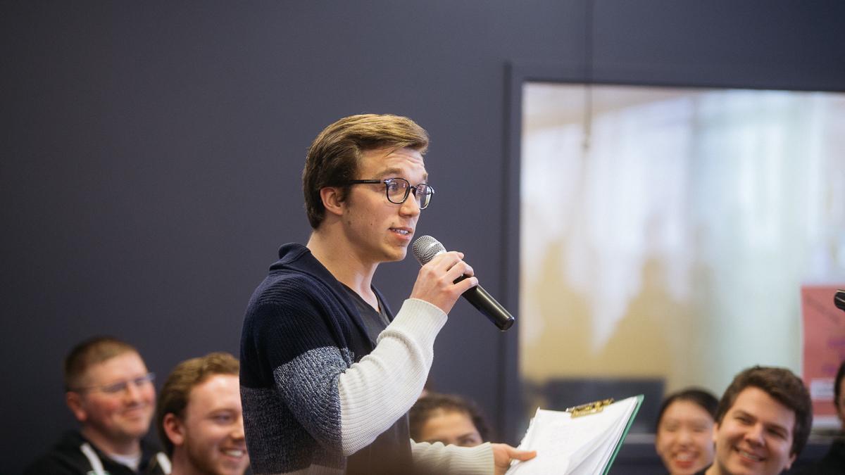 Photo of Bite the Ballot: Vice-President (Student Life)