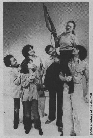 Photo of Archive: New theatre group going for message plays March 18, 1980
