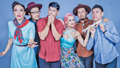 Photo of Painting in the language of love: Talking to Las Cafeteras at the Edmonton Folk Music Festival
