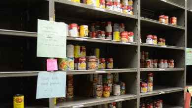Photo of Campus Food Bank especially in need of donations due to COVID-19